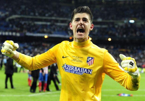 Courtois, il portiere dell'Atletico Madrid