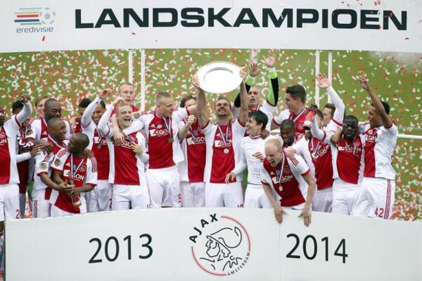 Per l'Ajax è il 33esimo titolo in Eredivisie