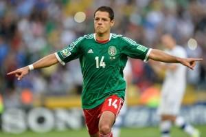 Chicharito Hernandez, obiettivo dell'Inter per la prossima stagione