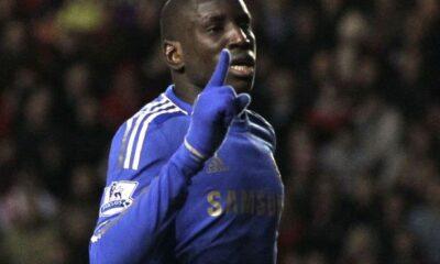 Demba Ba, autore del secondo gol del Chelsea
