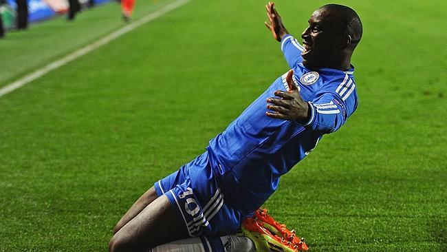 Demba Ba, attaccante del Chelsea e della nazionale senegalese