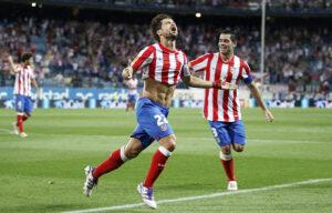 Diego, con la maglia dell'Atletico