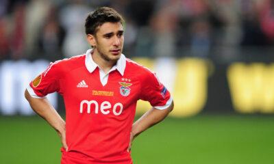 Eduardo Salvio, il migliore del Benfica contro l'Az