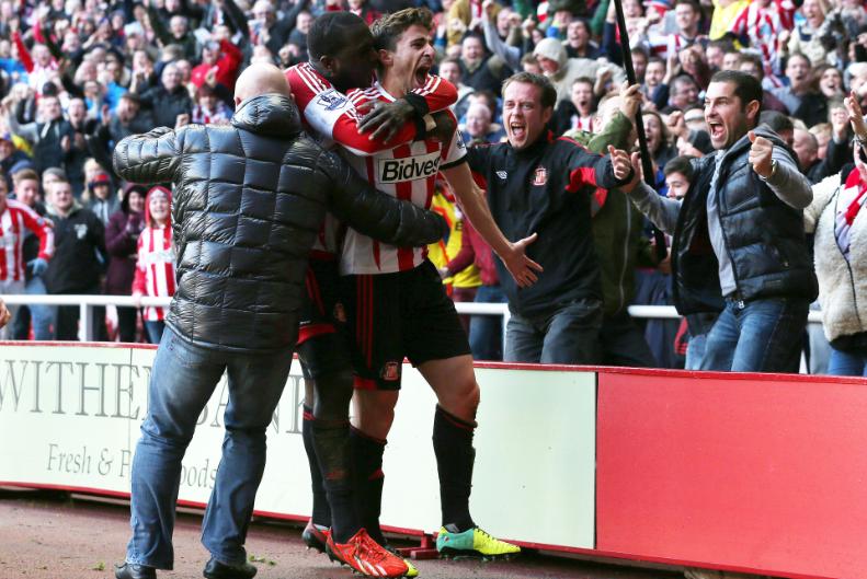 Fabio Borini, ex della Roma adesso al Sunderland