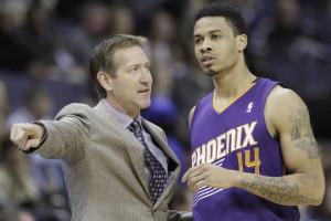 Grande vittoria per i Suns di coach Jeff Hornaceck e di Gerald Green