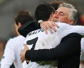 Ancelotti Cristiano Ronaldo finale Champions league