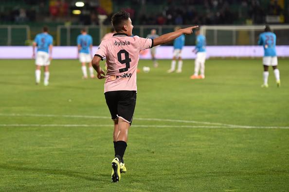 Paulo Dybala, attaccante del Palermo