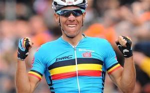 Philippe Gilbert ha conquistato la Liegi-Bastogne-Liegi nel 2011