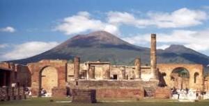 Veduta di Pompei