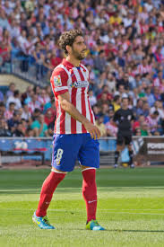 Raul Garcia, attaccante Atletico Madrid