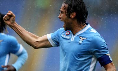 Stefano Mauri, in rete nella sfida tra Lazio e Torino