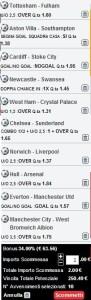 Premier League: schedina 35esimo turno