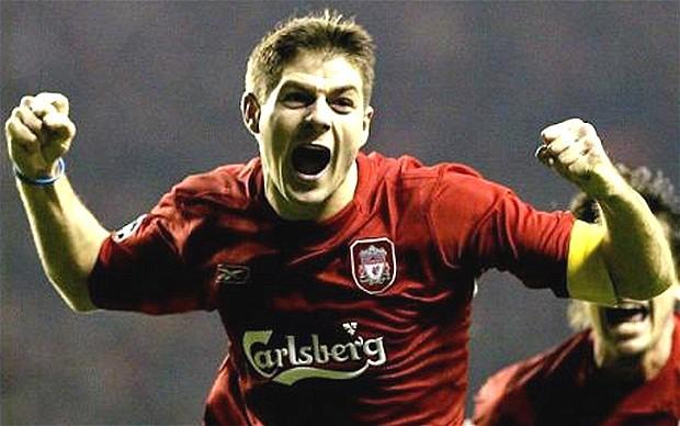 Steven Gerrard, storico capitano del Liverpool