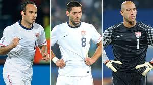 USA: Donovan, Dempsey e Howard per coltivare il sogno Mondiale.
