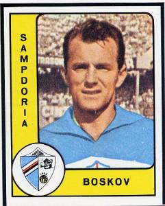 Vujadin Boškov nella sua figurina degli anni blucerchiati