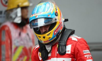 Fernando Alonso, pilota ferrari
