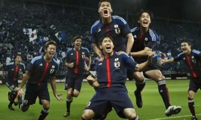 Honda e Kagawa con la maglia del Giappone