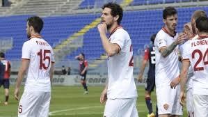 La Roma vince a Cagliari