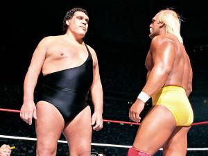 wrestlemania, André The Giant, Hulk Hogan,
