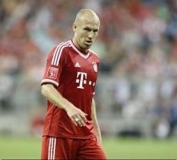 Real Madrid-Bayern Monaco 1-0: Arjen Robben, uno degli ex di questa partita, non risulta concreto
