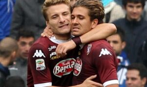 Cerci e Immobile Europa League