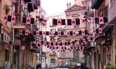 Palermo: Il quartiere di Ballarò è pronto per i festeggiamenti