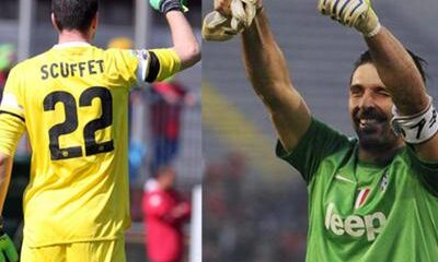 Scuffet e Buffon, top portieri italiani