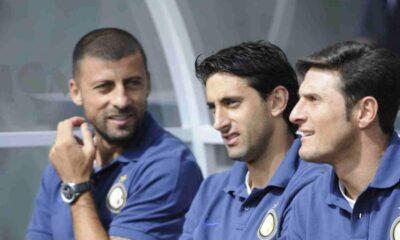 Zanetti, Samuel e Milito addio in Milan-Inter Triplete
