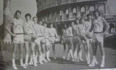 Enrico Gilardi con la Virtus Roma nel 193