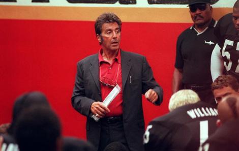 """Al Pacino in """"Ogni maledetta domenica"""", discorso valido per la nostra serie A"""