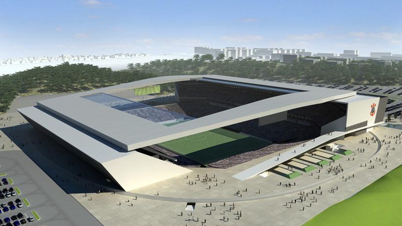 L'Arena Corinthians, uno degli stadi L'Arena Corinthians, uno degli stadi del mondiale mondiale