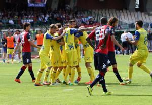 Il Chievo batte il Cagliari ed ottiene la salvezza