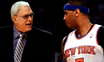 Carmelo Anthony, Phil Jackson New York Knicks, Sportcafe24, Nba