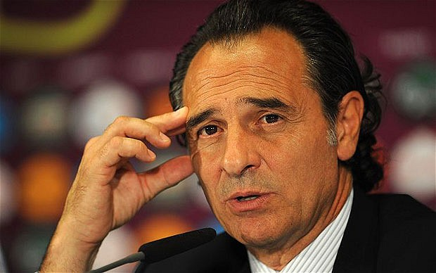 "Cesare Prandelli ""costretto"" a schierare titolare Balotelli"