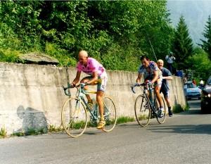 Duello storico tra Marco Pantani e Pavel Tonkov nel Giro d'Italia 1998