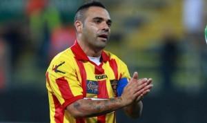 Fabrizio Miccoli, autore di una doppietta nel 5-0 del Lecce sul Foligno