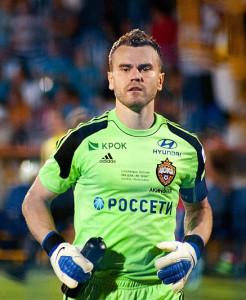 Igor Akinfeev, una delle stelle più luminose della Russia