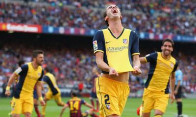 Barcellona-Atletico 1-1, Godin
