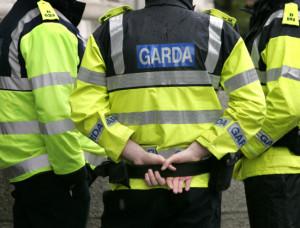 La polizia irlandese, presente al Giro d'Italia