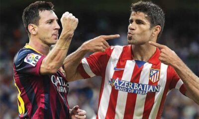 Liga - Messi Diego Costa