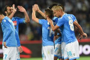 Il Napoli supera agevolmente il Cagliari