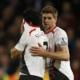 Tutta la disperazione di Luis Suarez dopo la clamorosa rimonta subita dal Liverpool.
