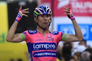 Diego Ulissi ha vinto l'ottava tappa del Giro