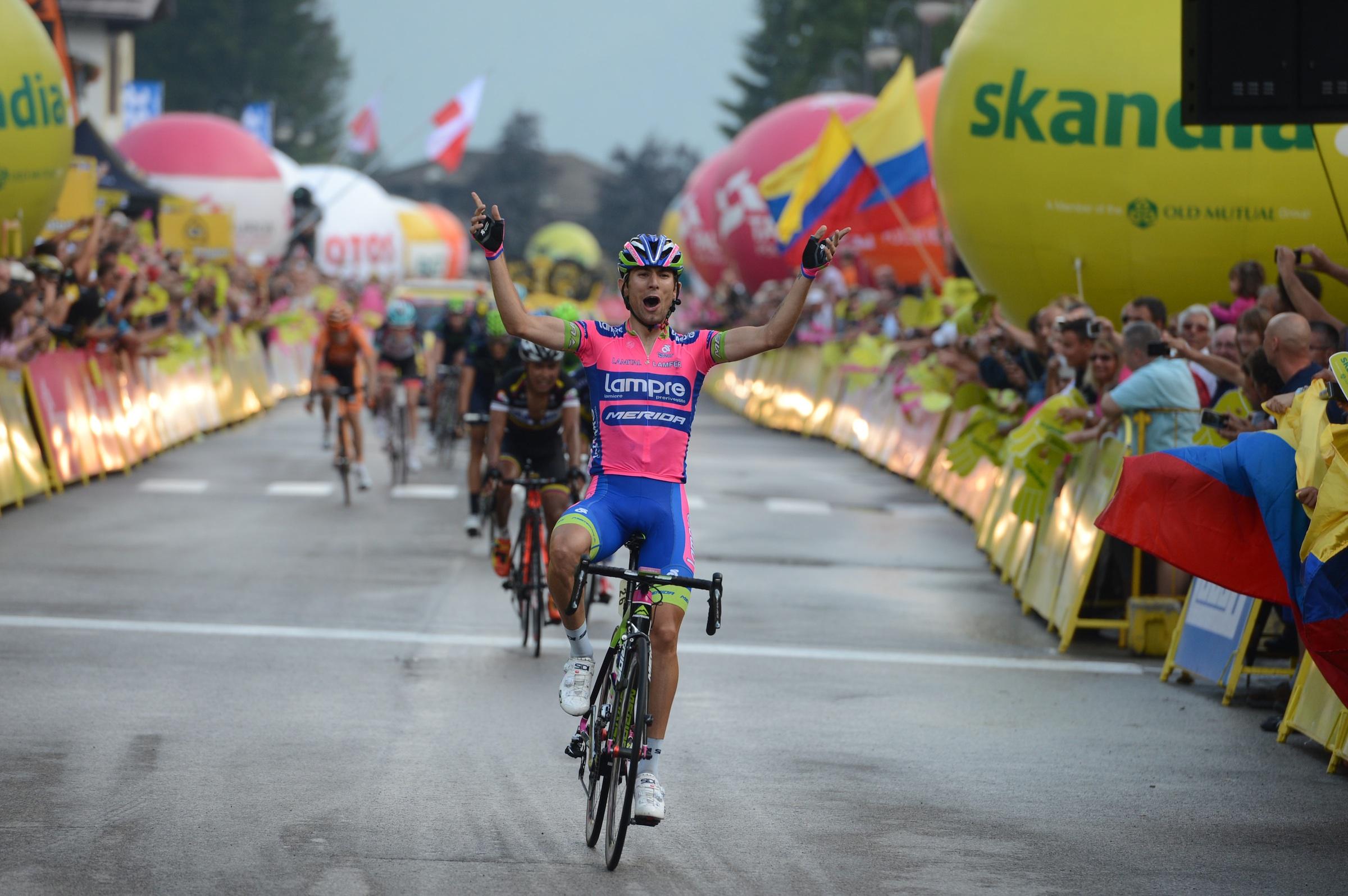 Diego Ulissi ha vinto due tappe in questo Giro d'Italia