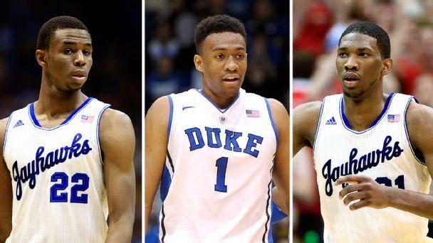 Wiggins, Parker, Embiid, saranno loro i principali pretendenti per la first pick dei Cleveland Cavaliers nell'Nba Draft 2014