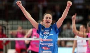 Lucia Bosetti e la Nordmeccanica Piacenza campioni d'Italia 2013-2014