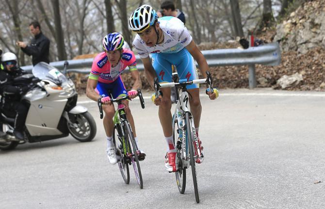 Fabio Aru, protagonista della diciannovesima tappa del Giro d'Italia