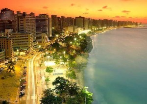 La splendida spiaggia di Fortaleza