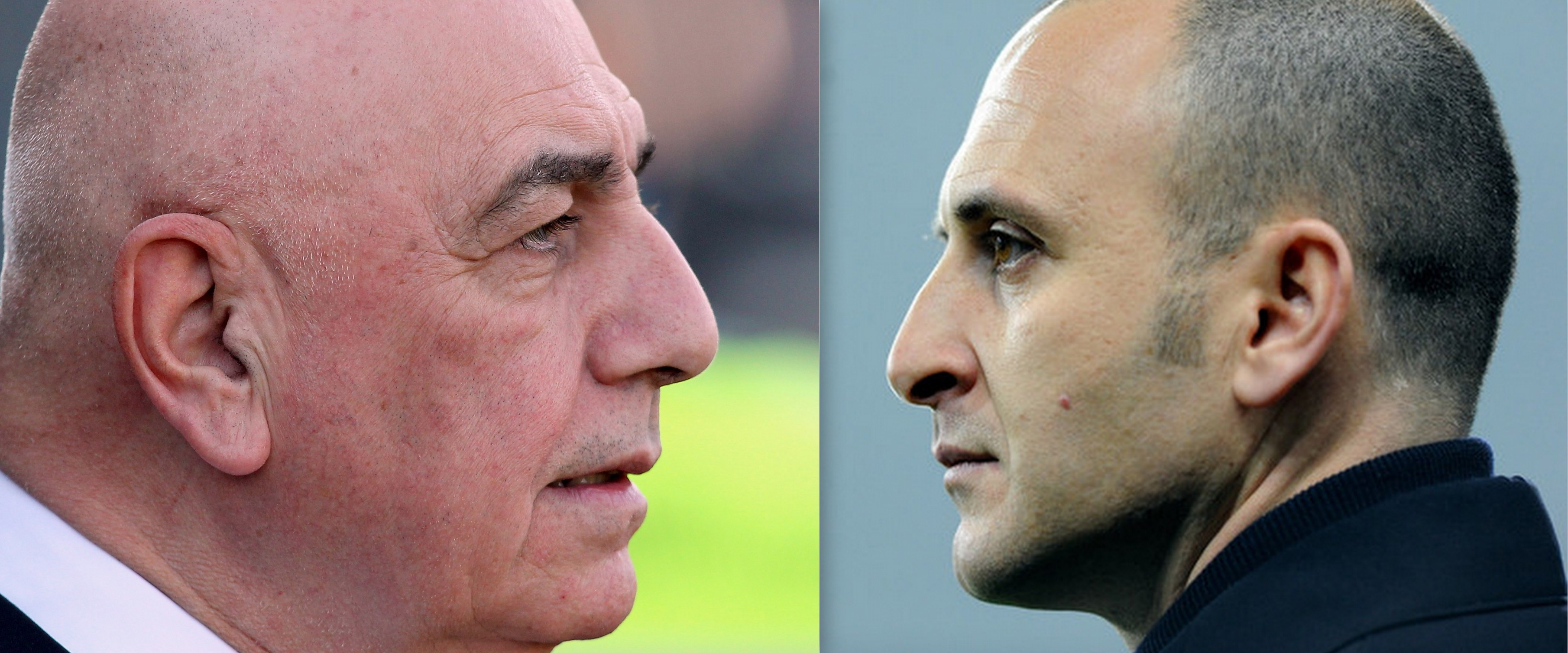Galliani e Ausilio a confronto