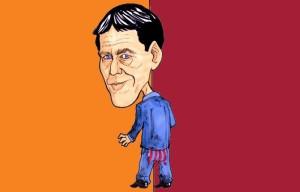 Rudi Garcia (caricatura di Simone Parisi)
